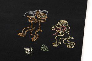龍村平蔵製 袋帯「とばえまき錦」のサブ3画像