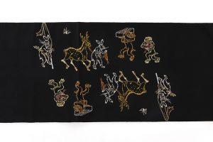 龍村平蔵製 袋帯「とばえまき錦」のサブ6画像