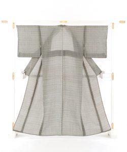 新里玲子作 宮古上布着物のメイン画像