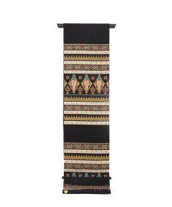 龍村美術織物製たつむら 夏袋帯地「タイ段文錦」のメイン画像
