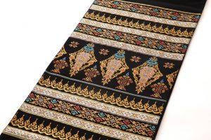 龍村美術織物製たつむら 夏袋帯地「タイ段文錦」のサブ1画像