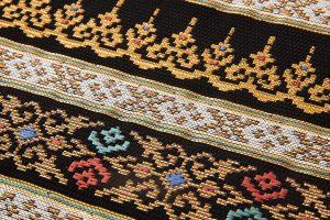 龍村美術織物製たつむら 夏袋帯地「タイ段文錦」のサブ3画像