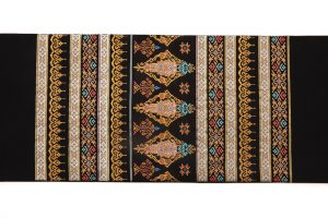 龍村美術織物製たつむら 夏袋帯地「タイ段文錦」のサブ4画像