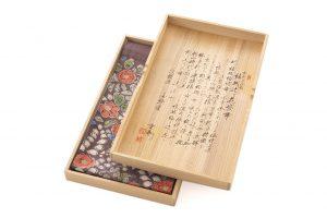 結城紬地 辻が花模様袋帯のサブ8画像