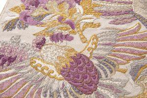 じゅらく製 貝紫袋帯のサブ3画像