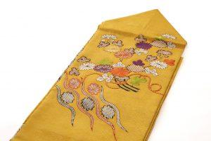 友禅刺繍入り 名古屋帯のサブ1画像