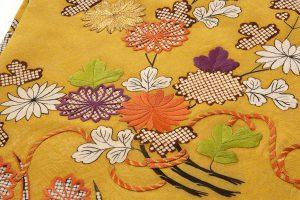 友禅刺繍入り 名古屋帯のサブ2画像