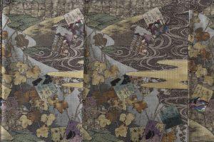 大島紬訪問着のサブ4画像