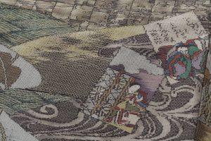 大島紬訪問着のサブ5画像