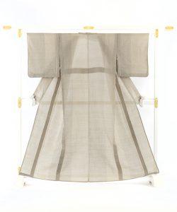 中島清志作 古代越後上布着物のメイン画像