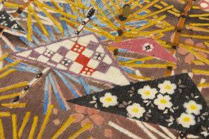 型絵染 袋帯のサブ2画像