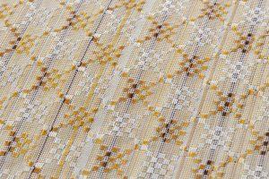 米須幸代作 首里花織着物のサブ5画像