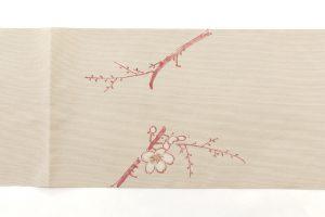 人間国宝 森口華弘作 綴織八寸名古屋帯のサブ4画像