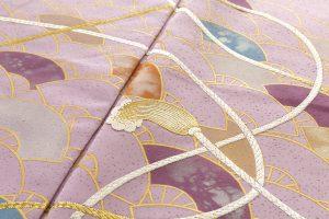 福田喜重作 刺繍訪問着のサブ8画像