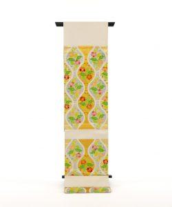 龍村平蔵製 袋帯「雅楽桜草文」のメイン画像