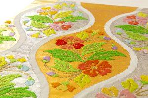 龍村平蔵製 袋帯「雅楽桜草文」のサブ4画像