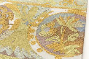 川島製 綴織本金名古屋帯のサブ3画像