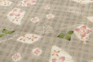 鈴木紀絵作 型絵染名古屋帯のサブ2画像
