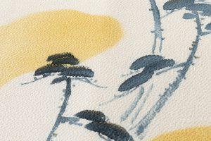 人間国宝 森口華弘作 染名古屋帯のサブ2画像
