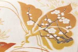 龍村美術織物製 たつむら製 綴織名古屋帯「胡蝶文」のサブ3画像