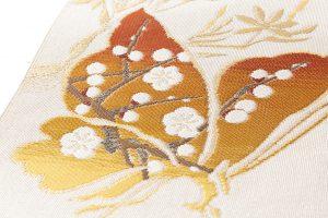 龍村美術織物製 たつむら製 綴織名古屋帯「胡蝶文」のサブ4画像