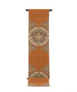 龍村平蔵製 袋帯「天平四天王文旗錦」のメイン画像