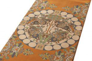 龍村平蔵製 袋帯「天平四天王文旗錦」のサブ1画像
