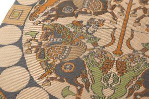 龍村平蔵製 袋帯「天平四天王文旗錦」のサブ2画像