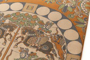 龍村平蔵製 袋帯「天平四天王文旗錦」のサブ3画像