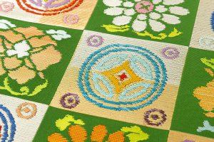 龍村平蔵製 袋帯地 「遠州錦」のサブ2画像