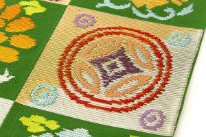 龍村平蔵製 袋帯地 「遠州錦」のサブ4画像