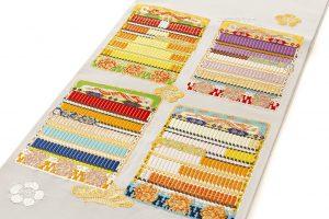 龍村光翔製 袋帯 「鎧文錦」のサブ1画像