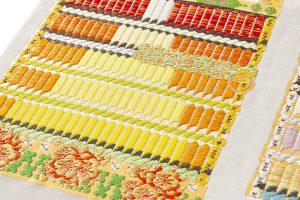 龍村光翔製 袋帯 「鎧文錦」のサブ2画像