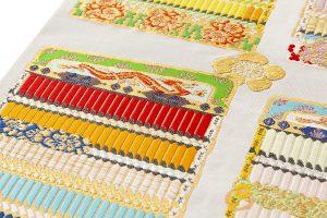 龍村光翔製 袋帯 「鎧文錦」のサブ3画像