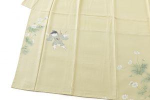 ニ代目由水十久作 本加賀友禅訪問着「秋桜」のサブ2画像