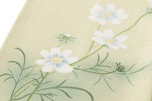 ニ代目由水十久作 本加賀友禅訪問着「秋桜」のサブ5画像