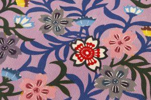 西平幸子作 本紅型小紋 着尺のサブ3画像