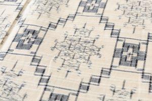 琉球美絣 紬着物のサブ5画像