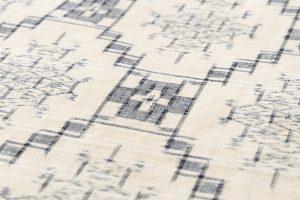 琉球美絣 紬着物のサブ6画像
