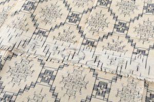 琉球美絣 紬着物のサブ7画像