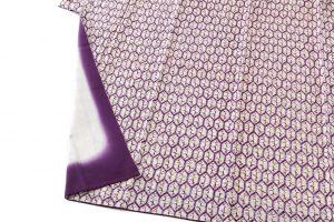 紫根染 綿着物のサブ3画像