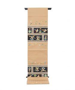 龍村平蔵製 袋帯「木画インコ」のメイン画像