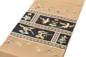龍村平蔵製 袋帯「木画インコ」のサブ1画像