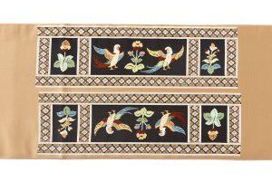 龍村平蔵製 袋帯「木画インコ」のサブ5画像