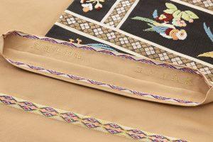 龍村平蔵製 袋帯「木画インコ」のサブ6画像