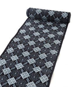 矢加部チロヨ作 久留米絣 着尺のメイン画像