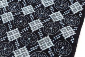 矢加部チロヨ作 久留米絣 着尺のサブ2画像