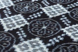 矢加部チロヨ作 久留米絣 着尺のサブ3画像