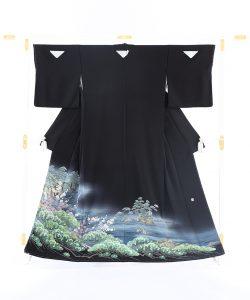 毎田健治作 本加賀友禅留袖のメイン画像
