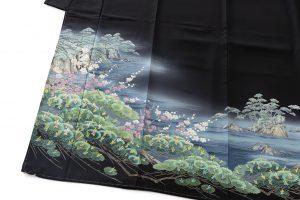 毎田健治作 本加賀友禅留袖のサブ1画像